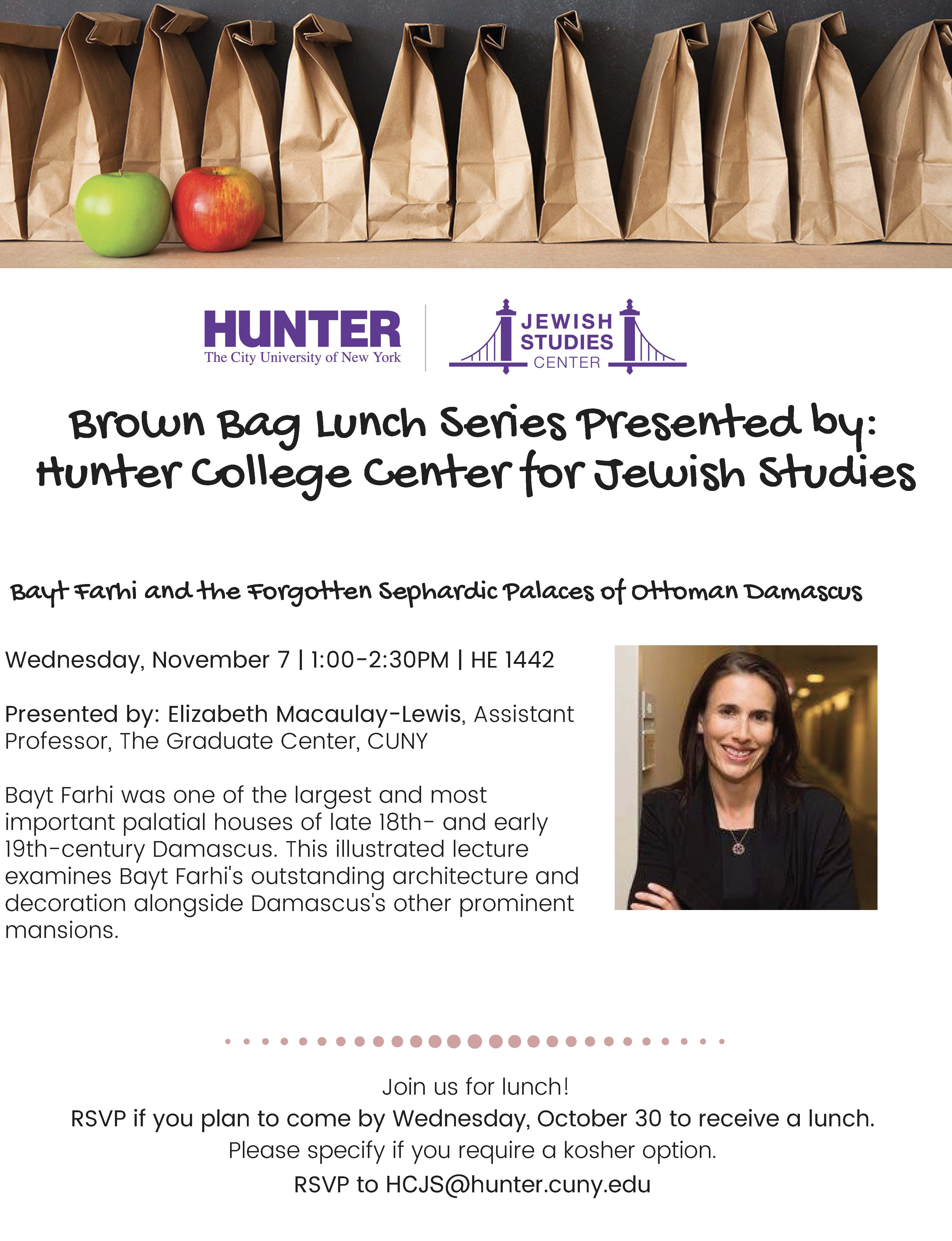 Read more about Jewish Studies Lunch seminar